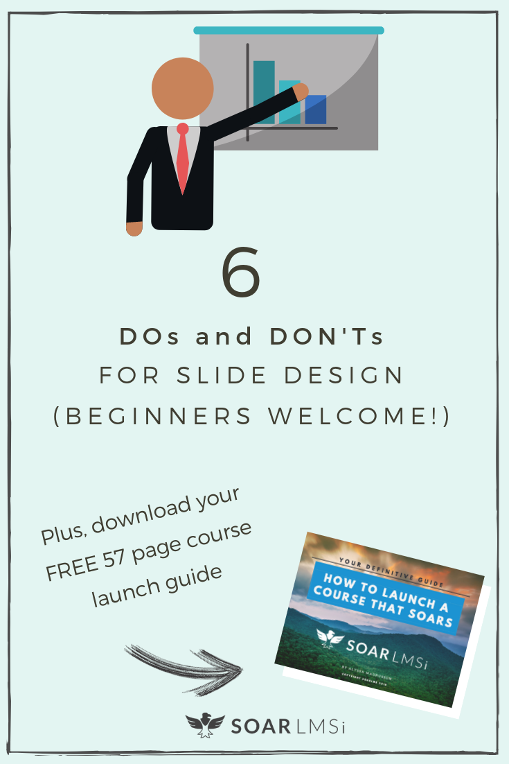 Slide design course learning management system intelligence