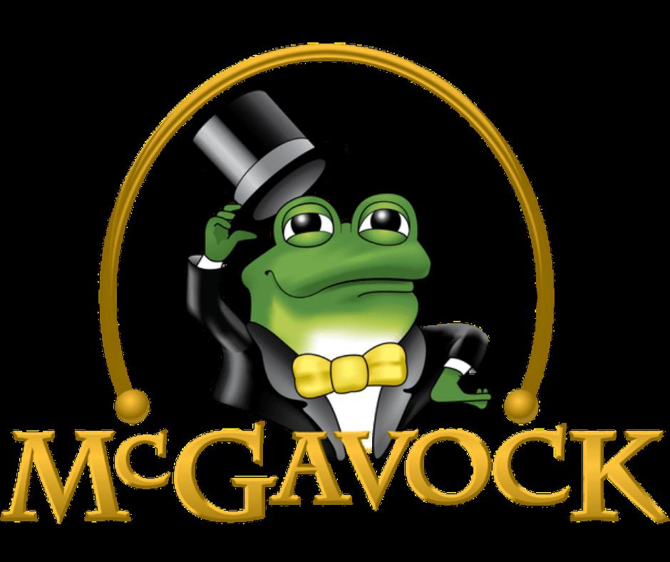 McGavock Auto Group Frog Logo Fully Reliant on God